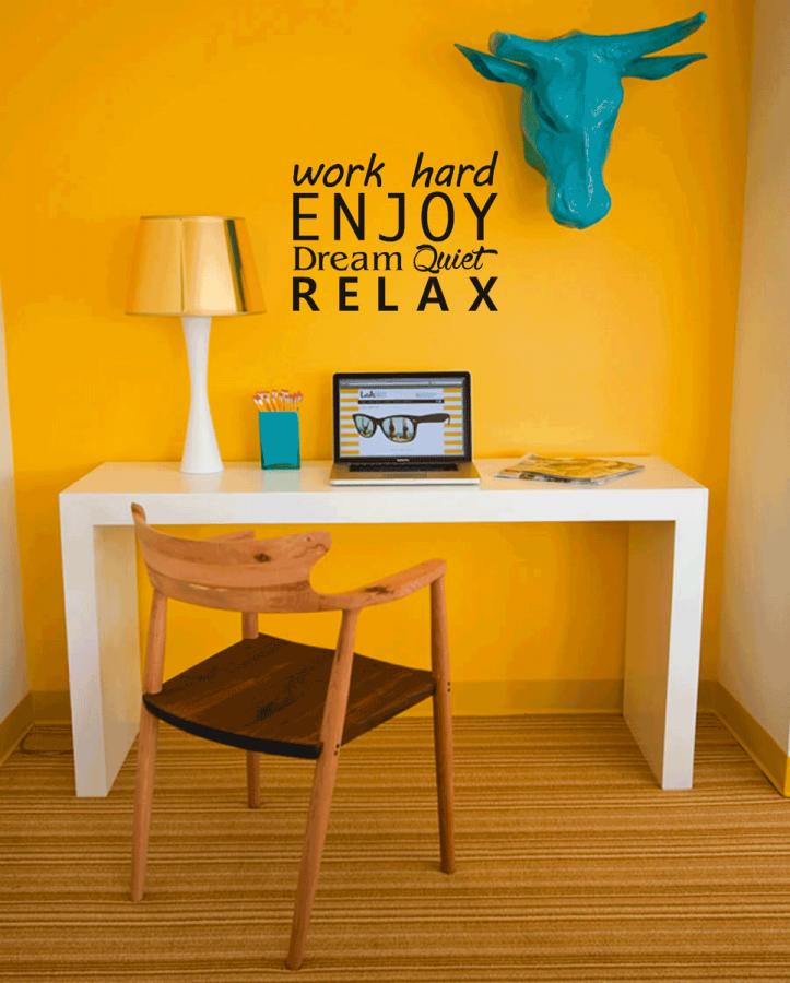 Muurteksten makkelijk zelf online ontwerpen plakhetzelf for Zelf kamer ontwerpen