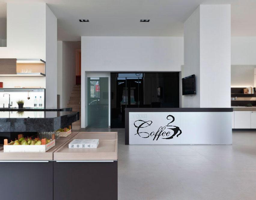 Muurstickers Keuken Koffie : keuken koffie muurstickers gesneden 3 muurteksten keuken koffie
