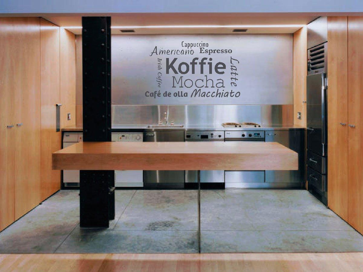 Muurteksten Keuken : muurteksten, keuken