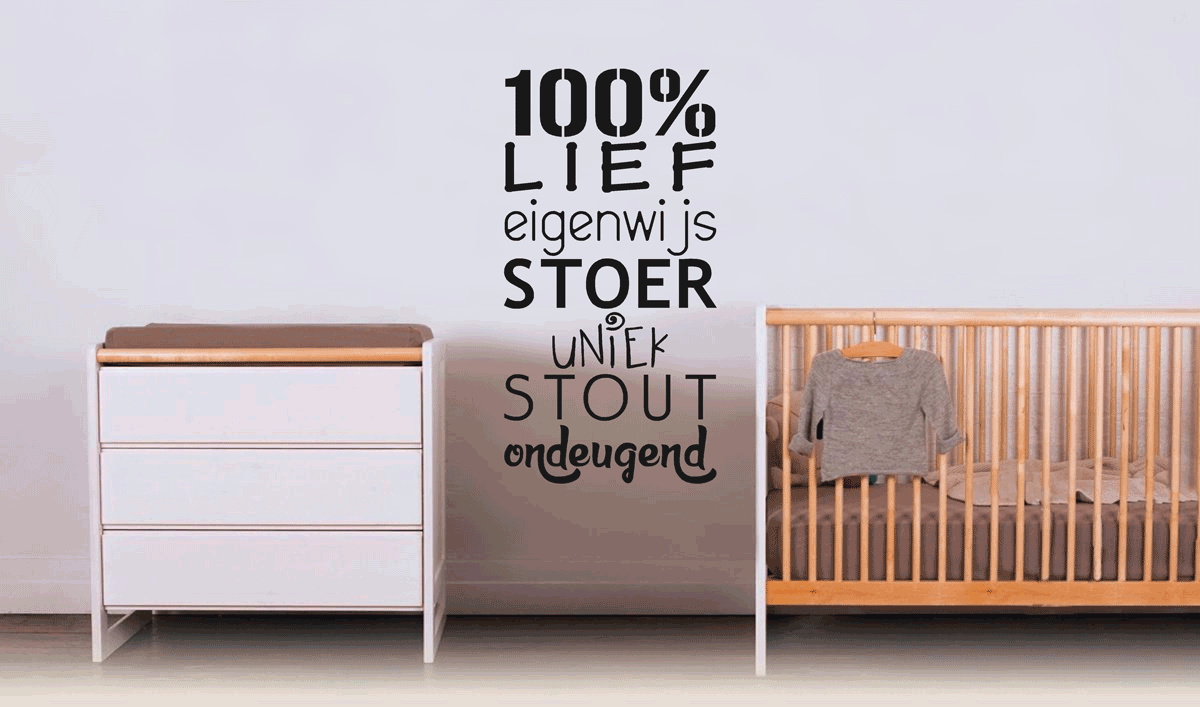 Muurteksten makkelijk zelf online ontwerpen plakhetzelf Muurteksten woonkamer