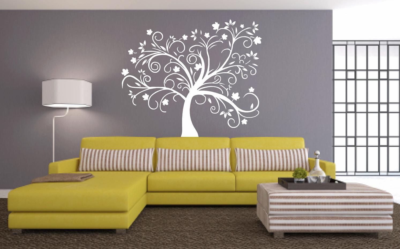 Muursticker boom zelf online ontwerpen plakhetzelf for Je eigen interieur ontwerpen