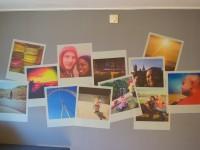 muurstickers, polaroid