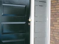 raamfolie, gesneden, voordeur