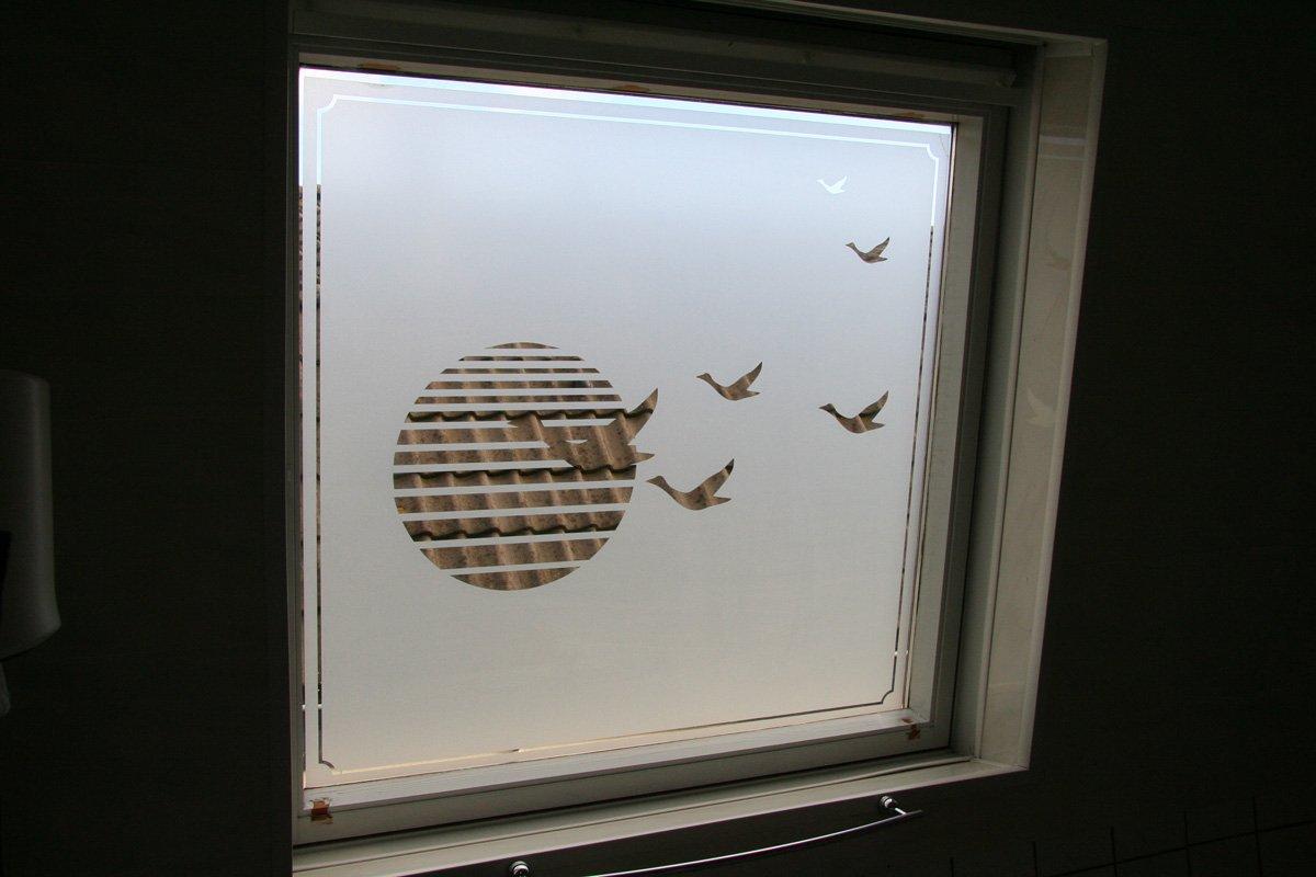 Kosten Sloop Badkamer ~ raamfolie gesneden 1 aan 1 kant badkamer gesneden raamfolie 1